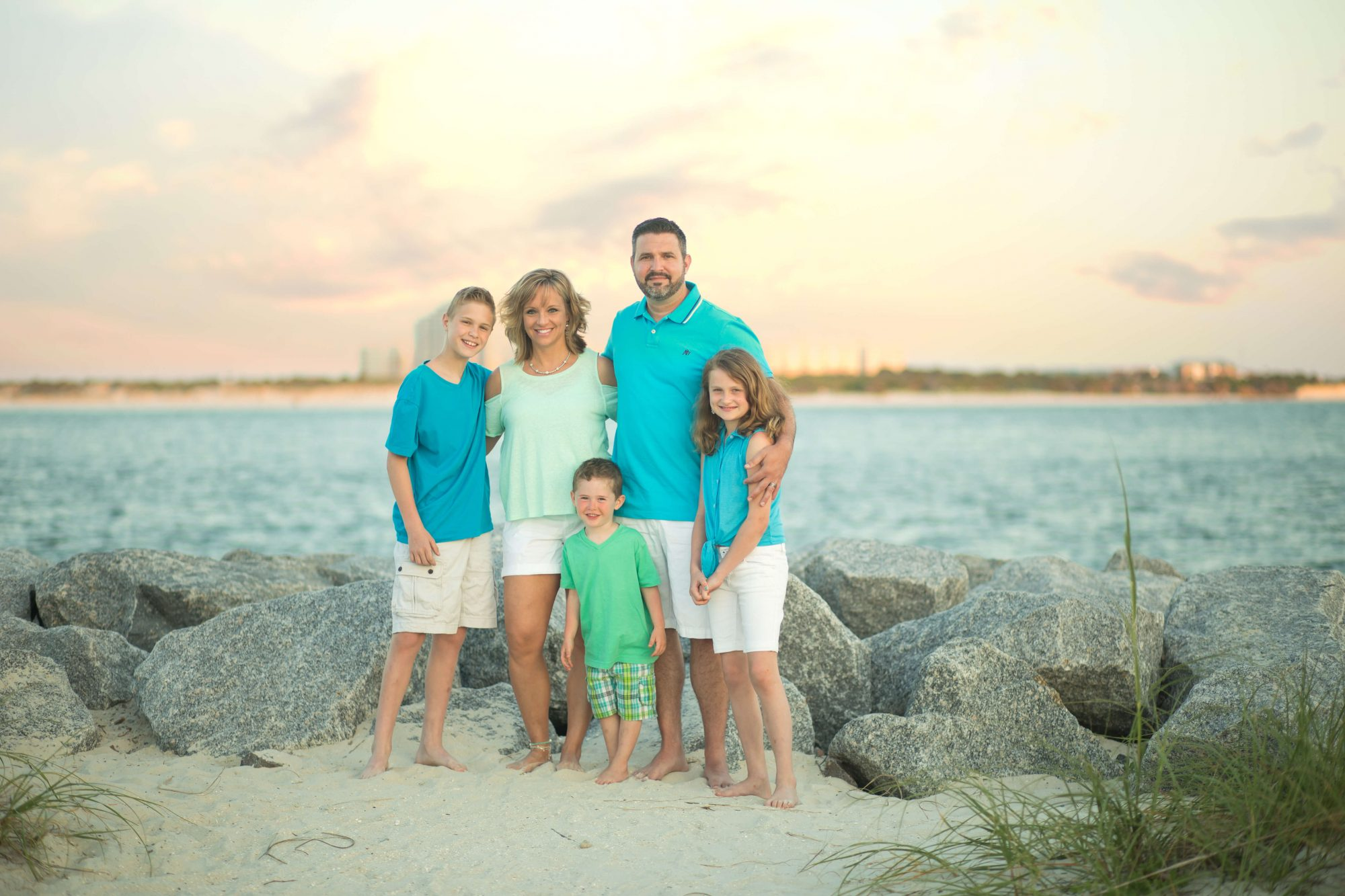 daytona beach family portraits