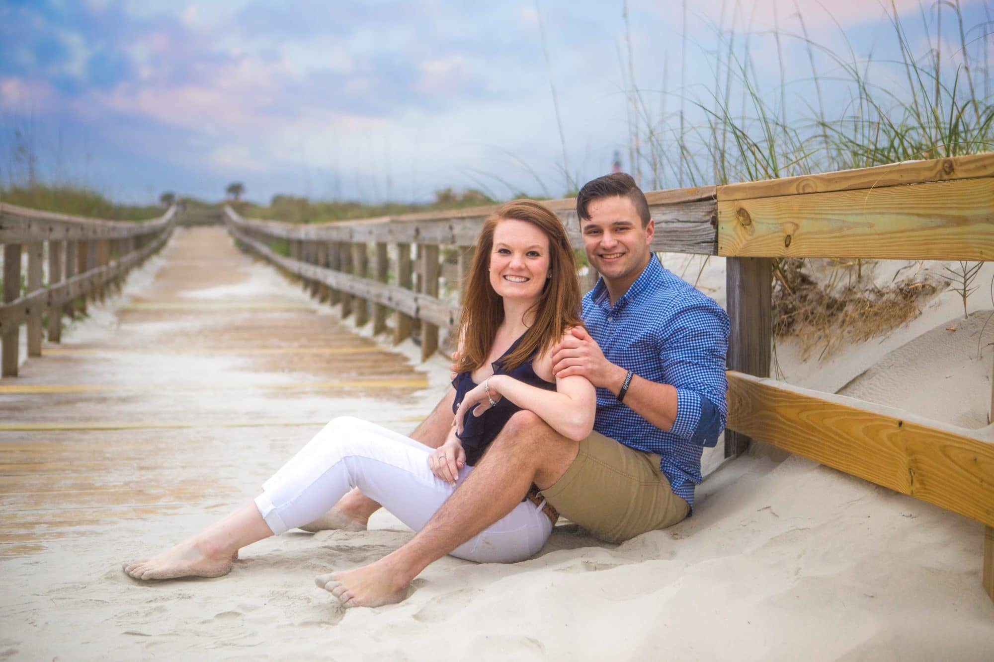 Ponce Inlet photography of a proposal