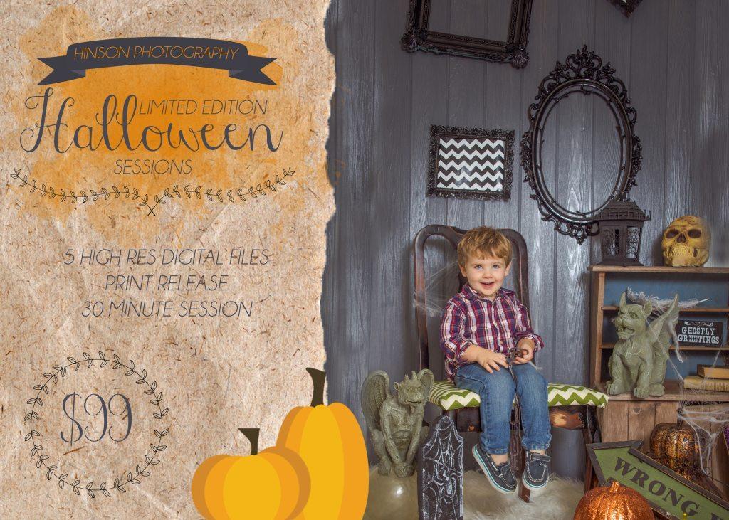 halloween photography portrait session