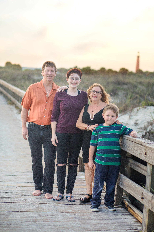 Daytona Beach Photographer session at Light house point park
