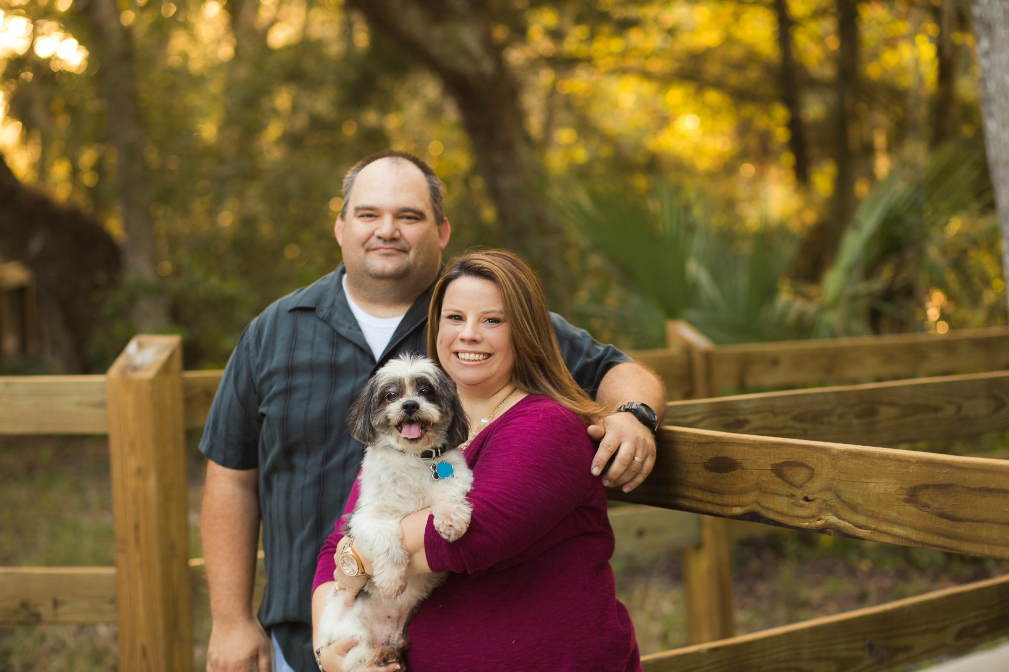 Daytona Beach Photographer portrait session at blue springs state park in central florida