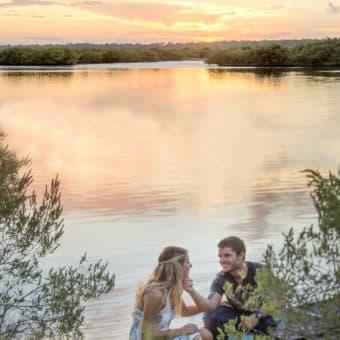Wedding photographer, engagement photographer, daytona beach photos, titusville photographer, orlando engagement photos, engagement photo ideas, unique engagement photo