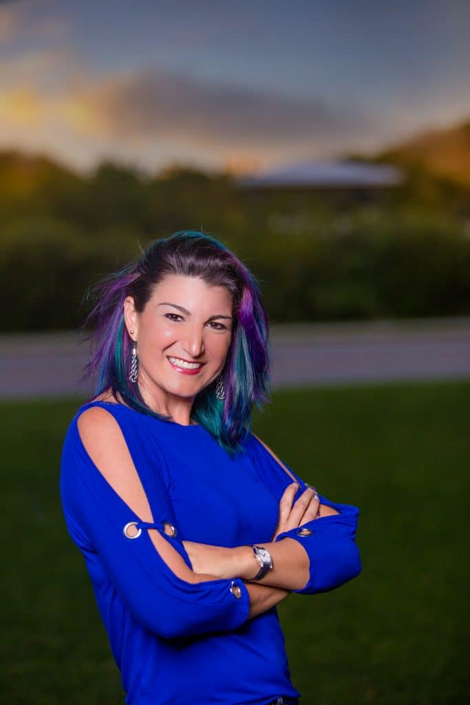 Professional portrait of a real estate agent taken by an ormond beach photographer