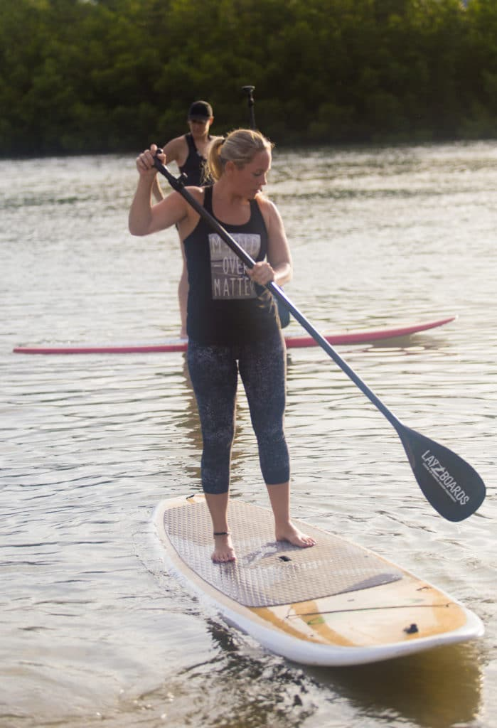 Paddle boarding near Orlando beach photography with local photographers