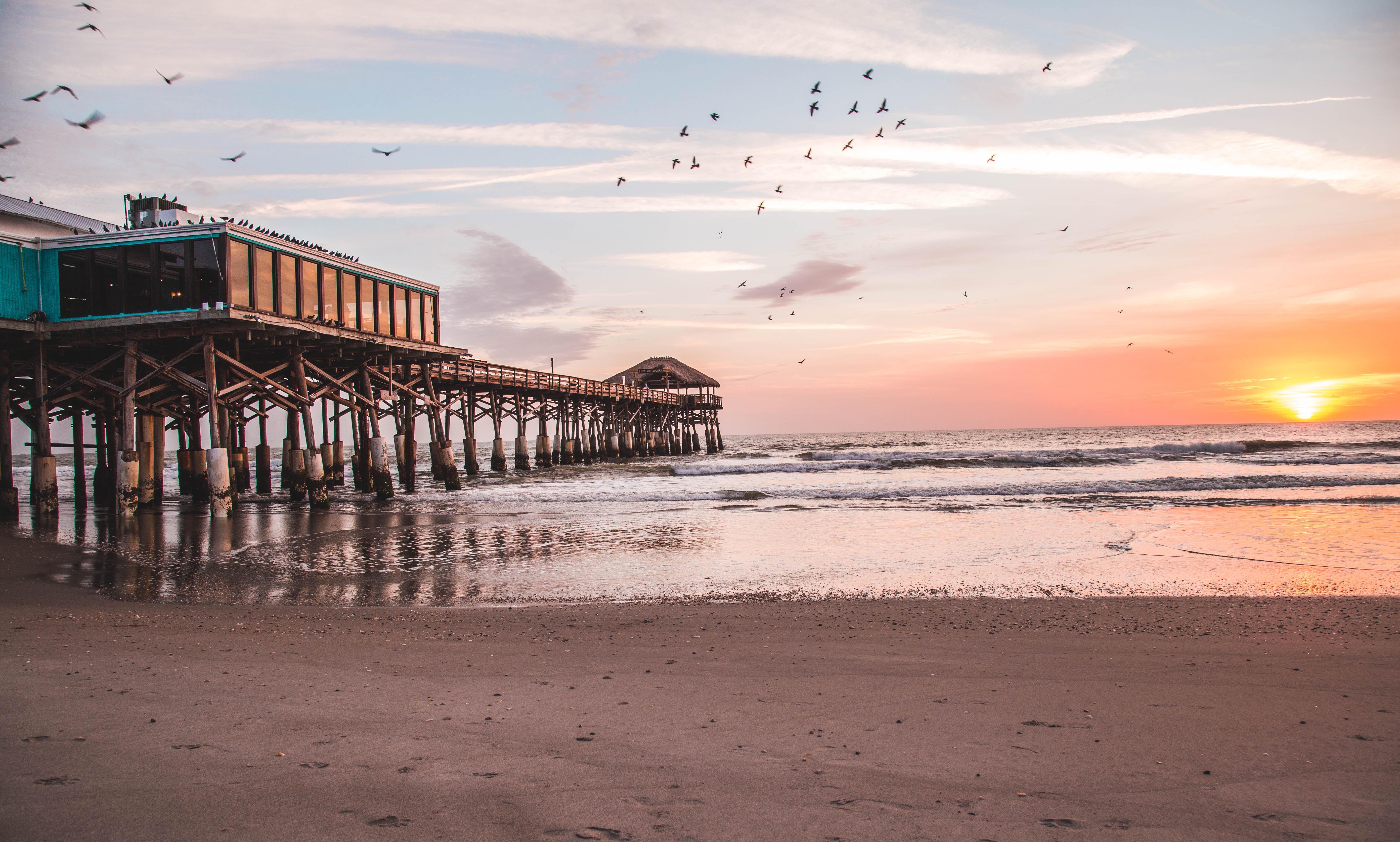 cocoa beach photography of the cocoa beach pier