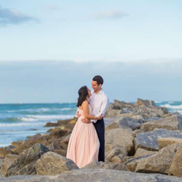 beach wedding photography services in Satellite Beach