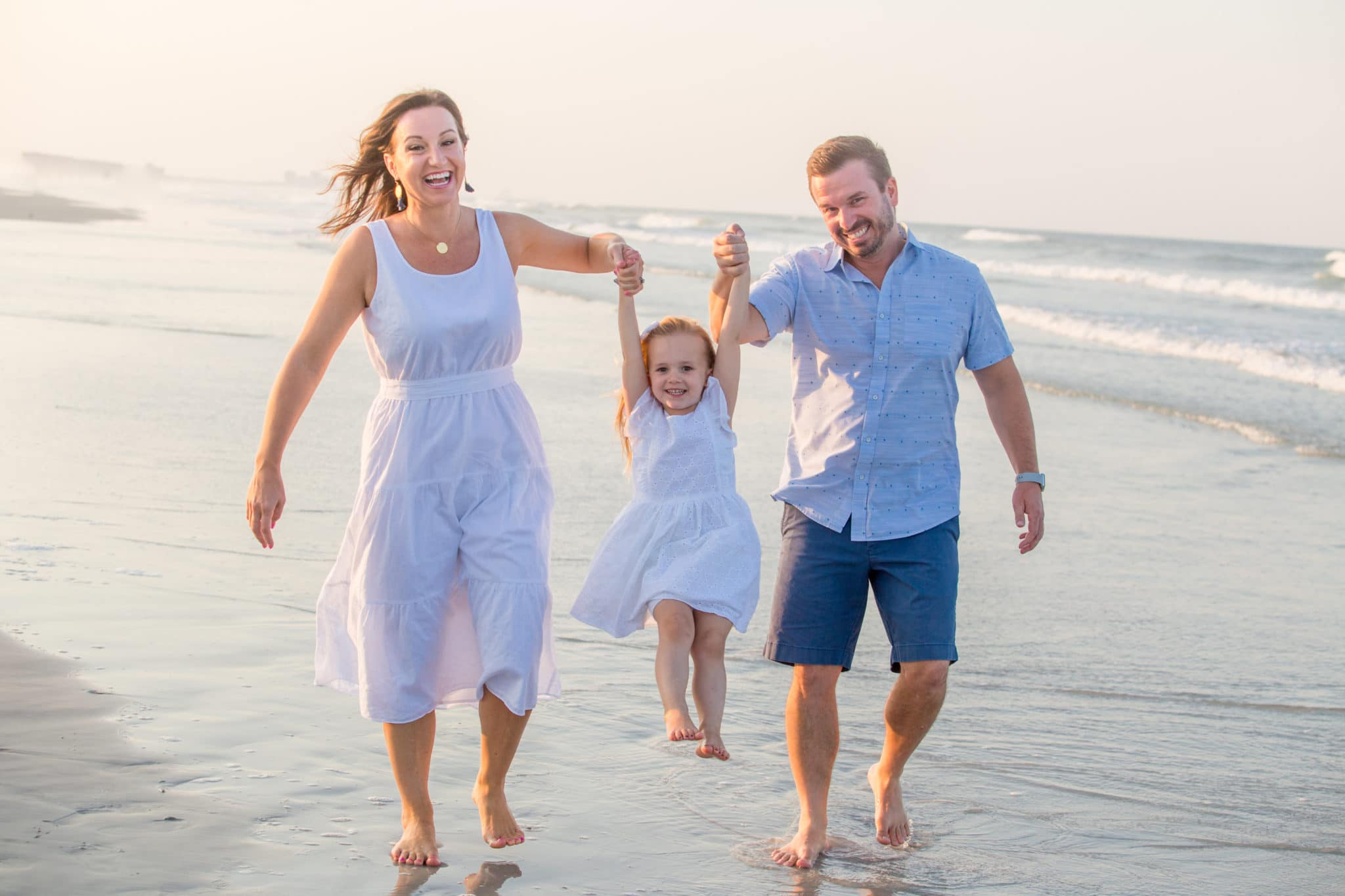 siesta key photographer family portrait on the beach