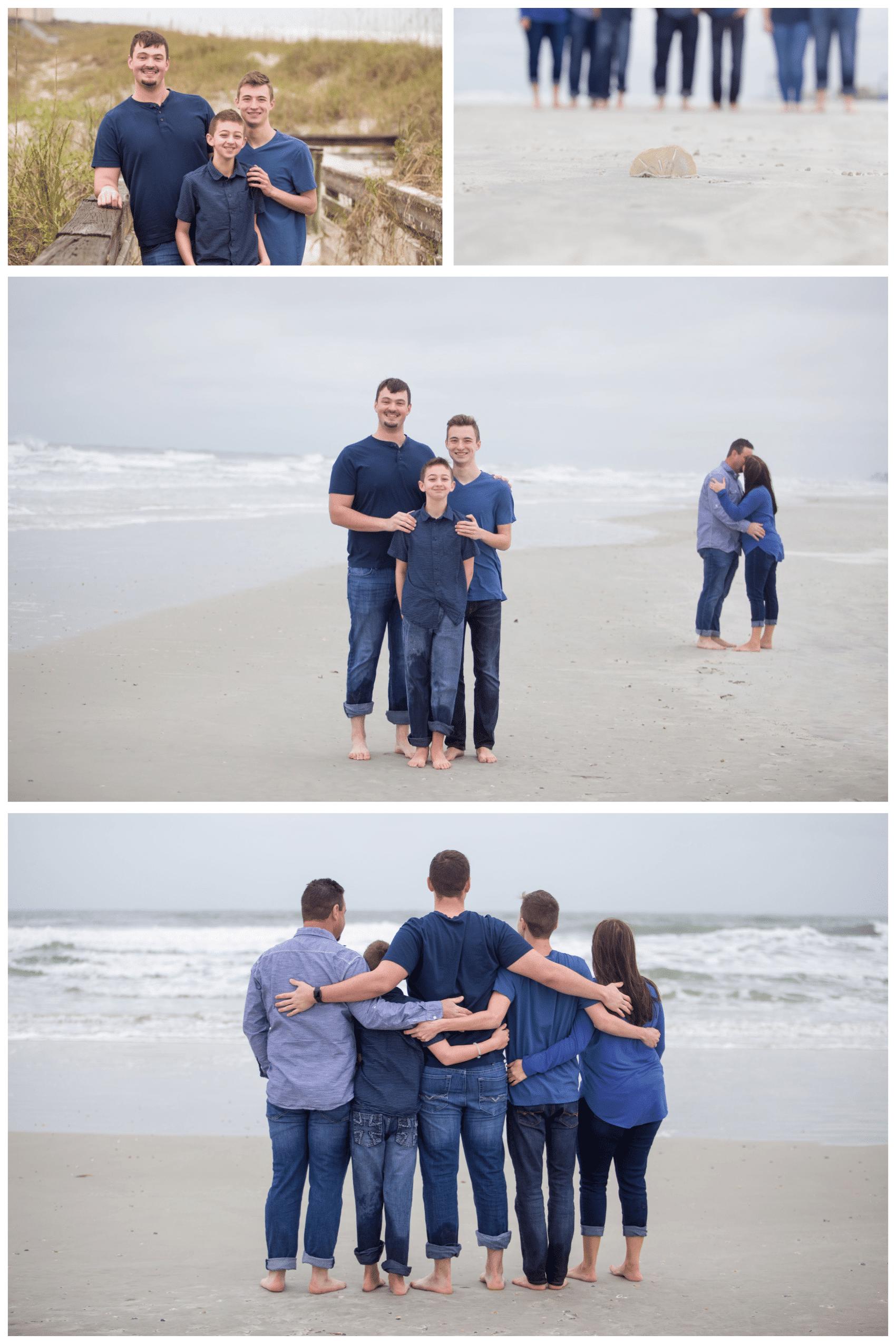 Jacksonville beach family photos by Hinson Photography