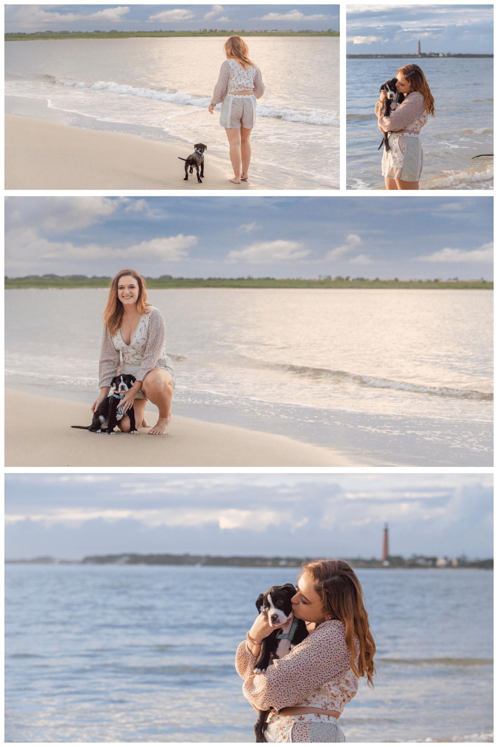dog beach photo in Florida