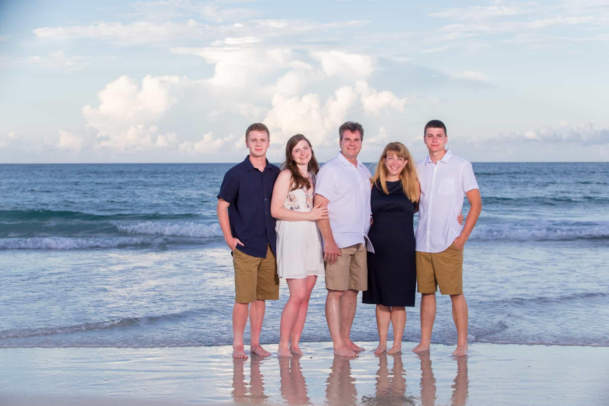 Family photography near New Smyrna beach